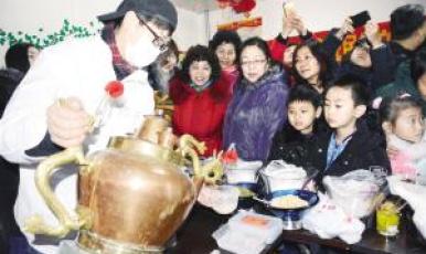 津味傳統小吃進社區 非遺傳承人親自帶隊