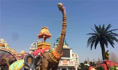畅游中国 常州 恐龙园