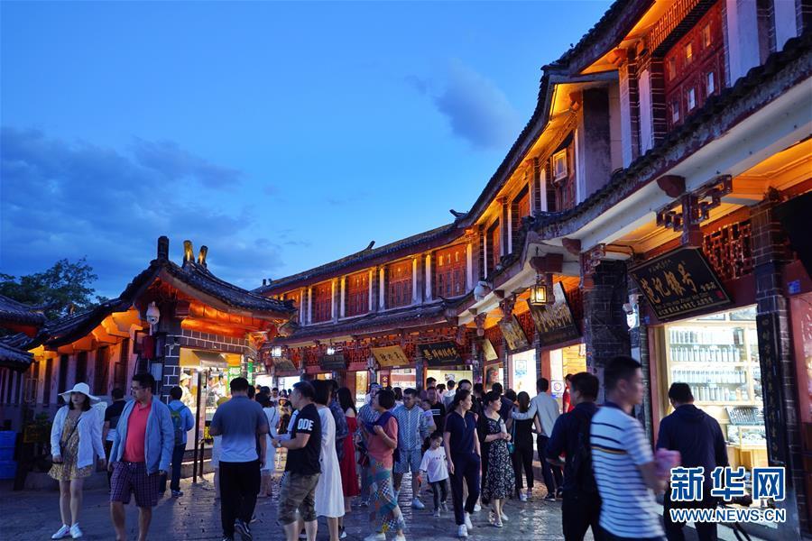 (社会)(2)丽江古城:越夜越美丽