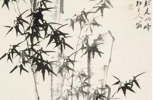 郑板桥的竹画与竹诗,风韵超然