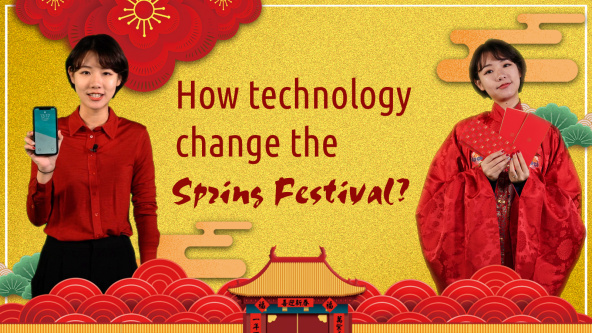 How is technology changing Chinese New Year?
