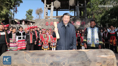 President Xi's New Year tours bring warmth to villagers' hearts